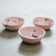 Rebecca Killen Pink Trinket / Ring Dish